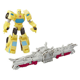 Transformers Cyberverse Spark Armor Bumblebee Action Figure.