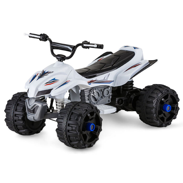 Pacific ATV 12V Powered Ride On - White