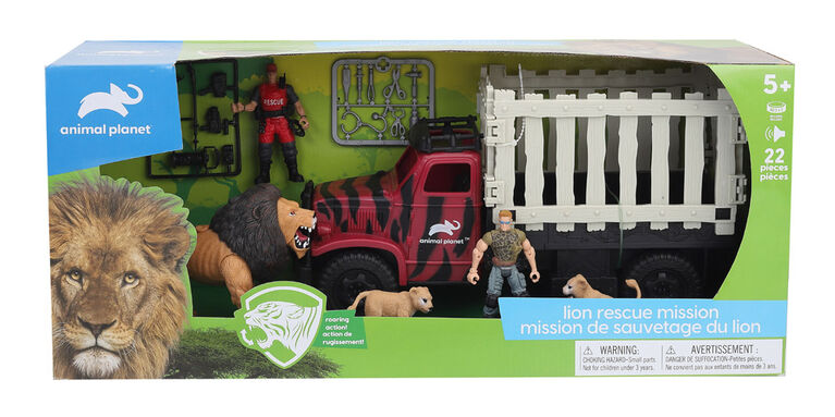 Animal Planet - Lion Rescue Playset - R Exclusive