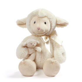 Baby GUND Animated Talking Nursey Time Lamb with 5 Nursery Rhymes, 10 inch