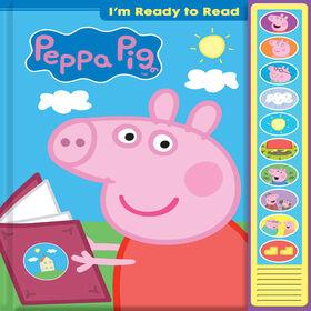 Livre Je Suis Prêt À Lire Avec Peppa - Édition anglaise