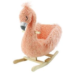 Soft Landing Animal Adventure Joyride Character Rocker - Flamingo