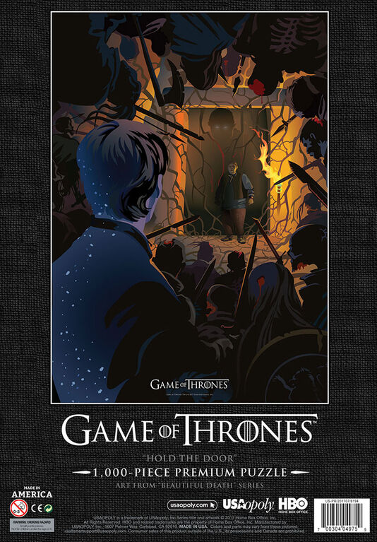 "Game of Thrones ""Hold The Door"" Puzzle De 1000 Pièces"