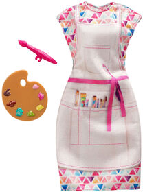 Barbie Career Fashions Pack, Artist