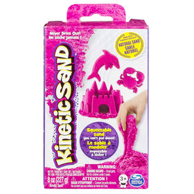Kinetic Sand - 8 oz (227 g) de sable rose