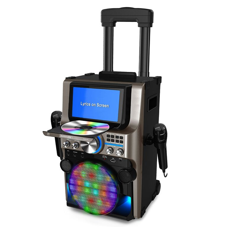 iKARAOKE Ultimate Bluetooth Karaoke Party Machine
