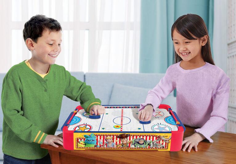 Toy Story 4 Table De Hockey Sur Coussin D'Air - Notre exclusivité