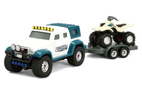 "Tonka Hitch""em up Vechicles - 4X4 Hauler with ATV"