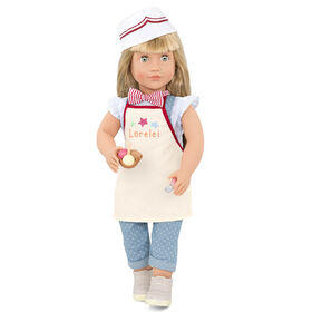 Our Generation, Lorelei, 18-inch Posable Ice Cream Doll