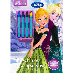 Disney Frozen Snowflakes and Sparkles