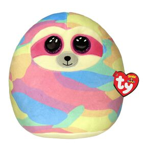 Ty Squish Cooper Pastel Sloth 10 inch