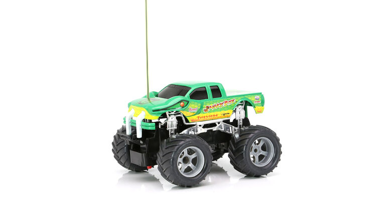 New Bright RC 1:24 Scale Hot Wheels Monster Truck  Radio Control Toy -  Colours and styles may vary