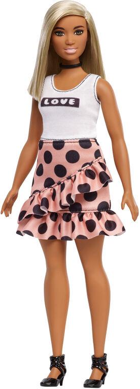 Poupée Barbie Fashionistas - Robe à Pois.