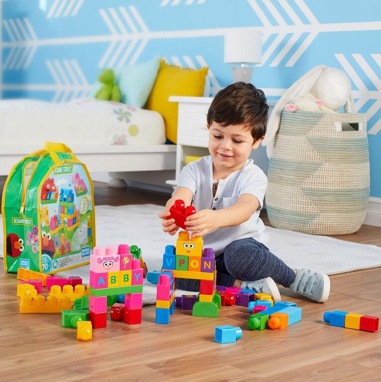 Mega Bloks - Sesame Street Let's Build Sesame Street Building Set - English Edition