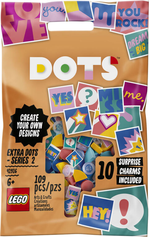 LEGO DOTS Tuiles de décoration DOTS - Série 2 41916