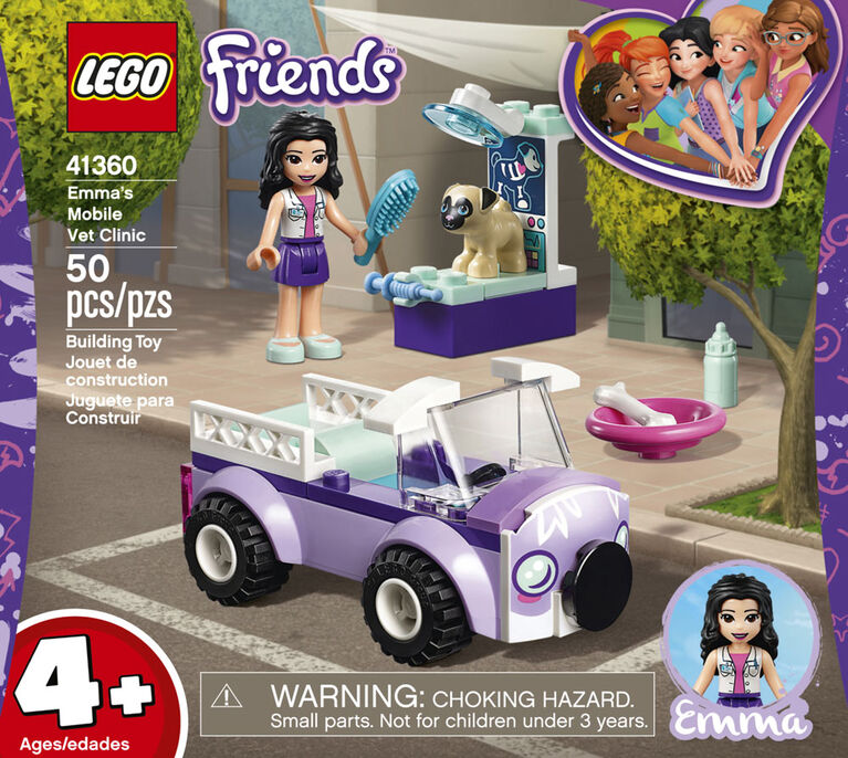 LEGO Friends La clinique vétérinaire mobile d'Emma 41360