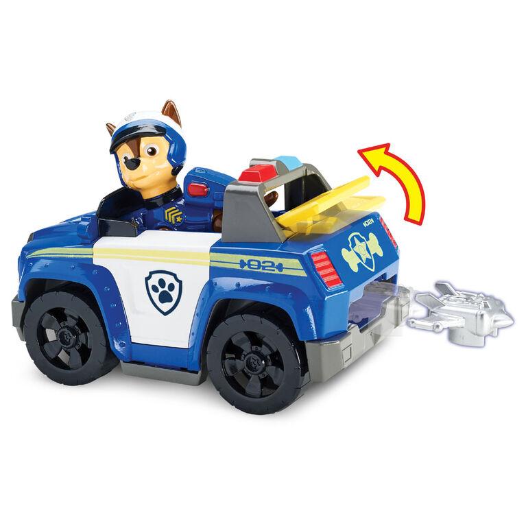 Coffret Chase's Highway Patrol Cruiser avec lanceur et figurine de Chase Pat' Patrouille
