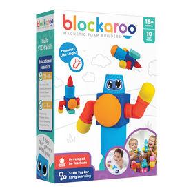 Blockaroo Magnetic Foam Blocks - Robot - Édition anglaise