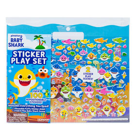 Pinkfong Baby Shark Sticker Play Set - English Edition