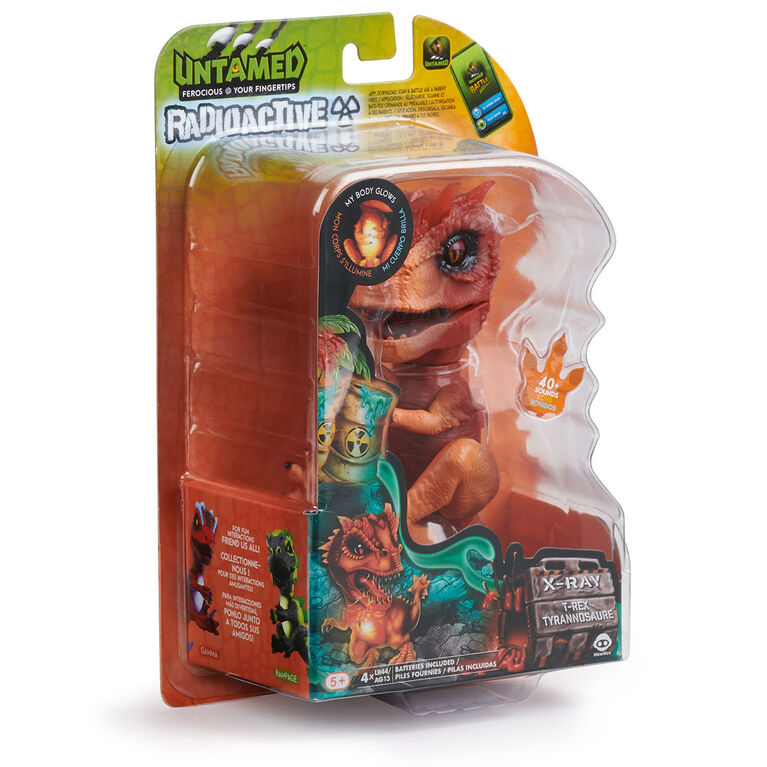 Untamed - T-Rex radioactif  - X-Ray (Orange)