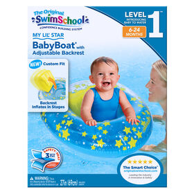 Baby Boat with Adjustable Backrest My Lil'  Star