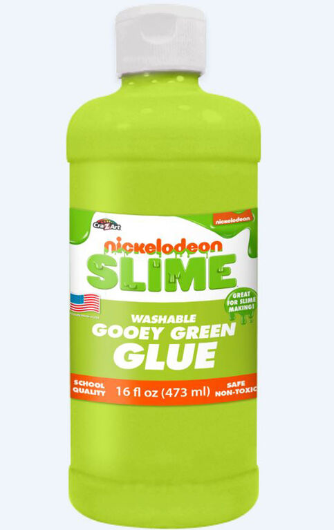Nickelodeon 16 Oz Slime Glue-Green