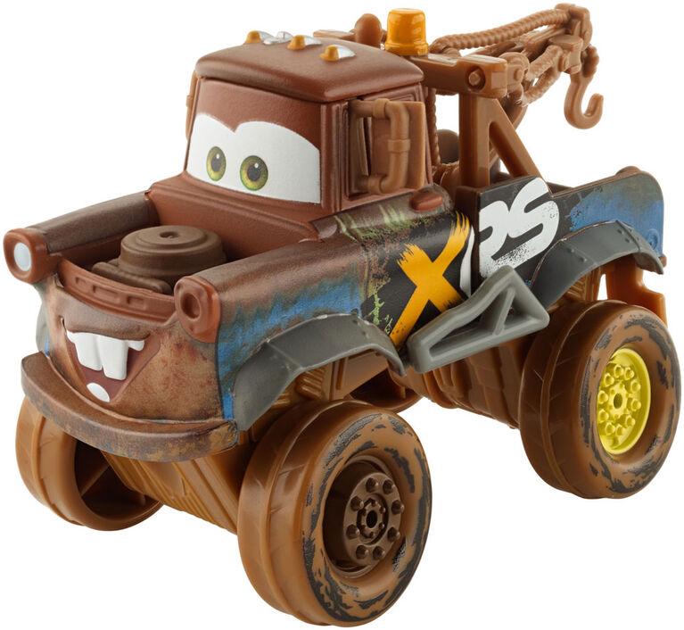 Disney/Pixar Cars XRS Mud Racing Oversized Mater Vehicle - English Edition