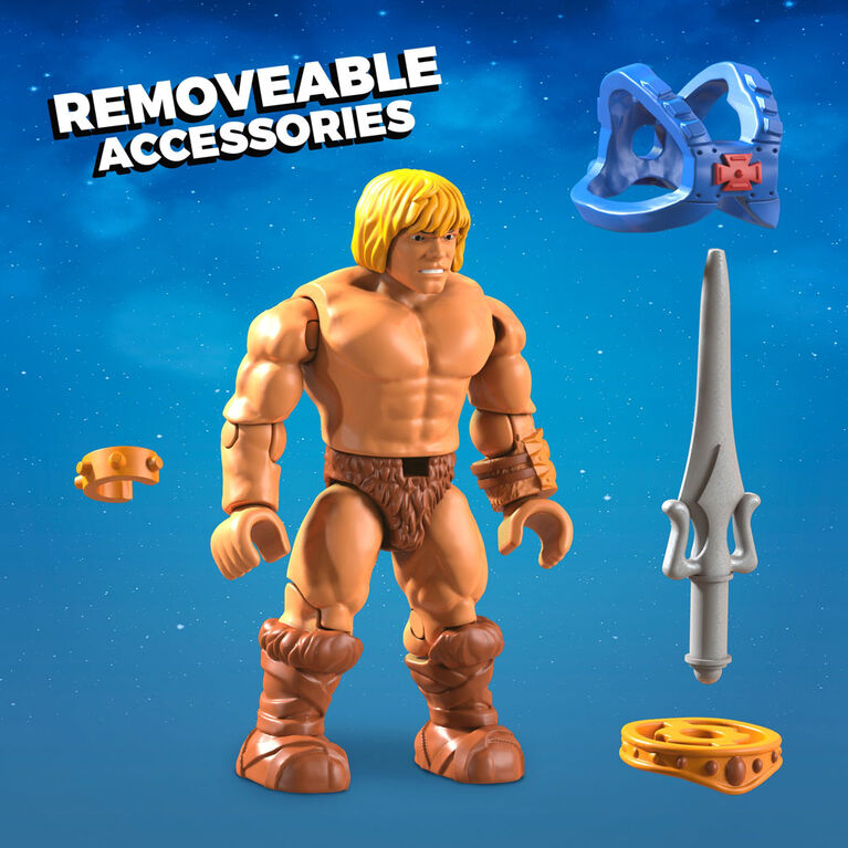Mega Construx Masters of the Universe He-Man Jet Sled