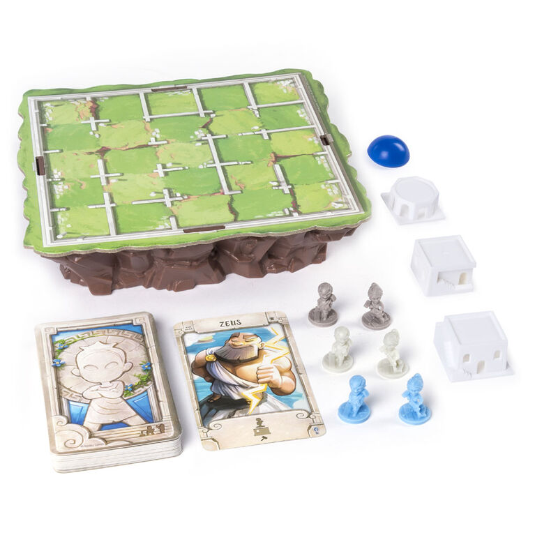 Santorini - Strategy-Based Board Game - styles may vary