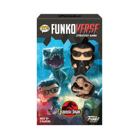 POP! Funkoverse Jurassic Park 101 Strategy Game Expandalone - English Edition