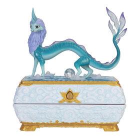 Coffret à bijoux du dragon Sisu du film de Disney Raya et le dernier dragon.