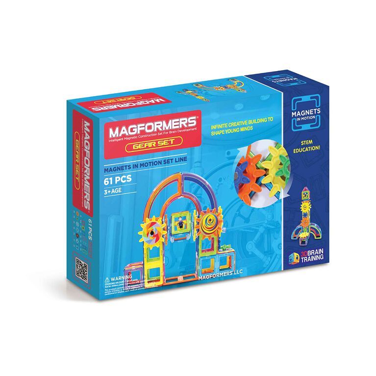 Magformers Magnets in Motion 61 Piece Set
