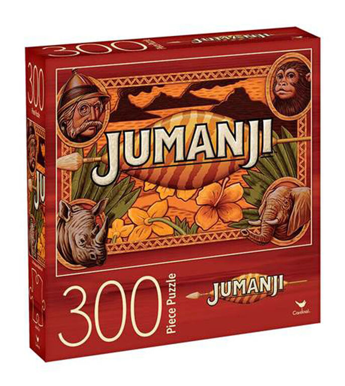 Jumanji 300-Piece Jigsaw Puzzle