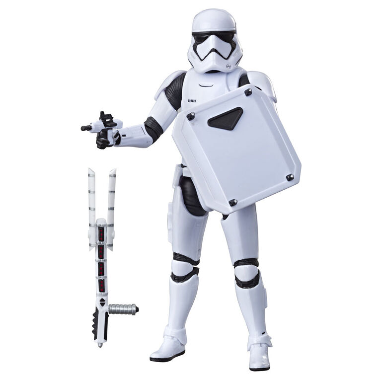 Star Wars The Black Series First Order Stormtrooper Toy 6-inch Scale Star Wars: The Last Jedi Collectible Action Figure