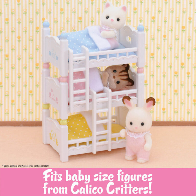 Calico Critters - Triple Baby Bunk Beds