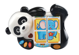 VTech Panda & Pals Block Puzzle - French Edition