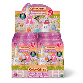 Calico Critters Baby Costume Series Blind Bags, Surprise Set including Doll Figure and Accessory