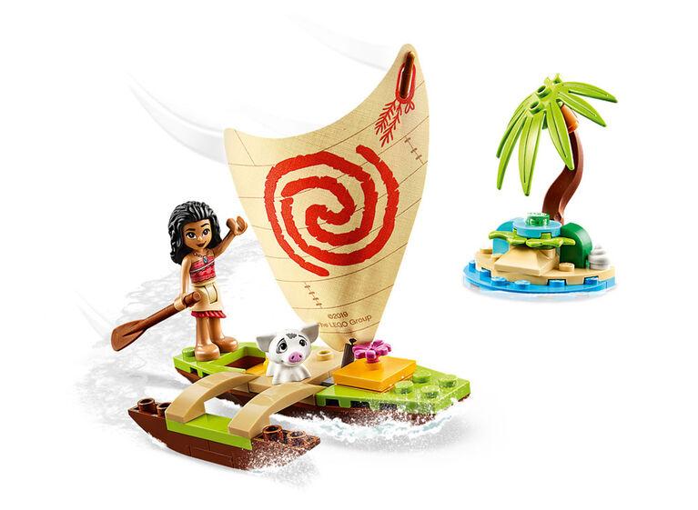 LEGO Disney Princess L'aventure en mer de Vaiana 43170