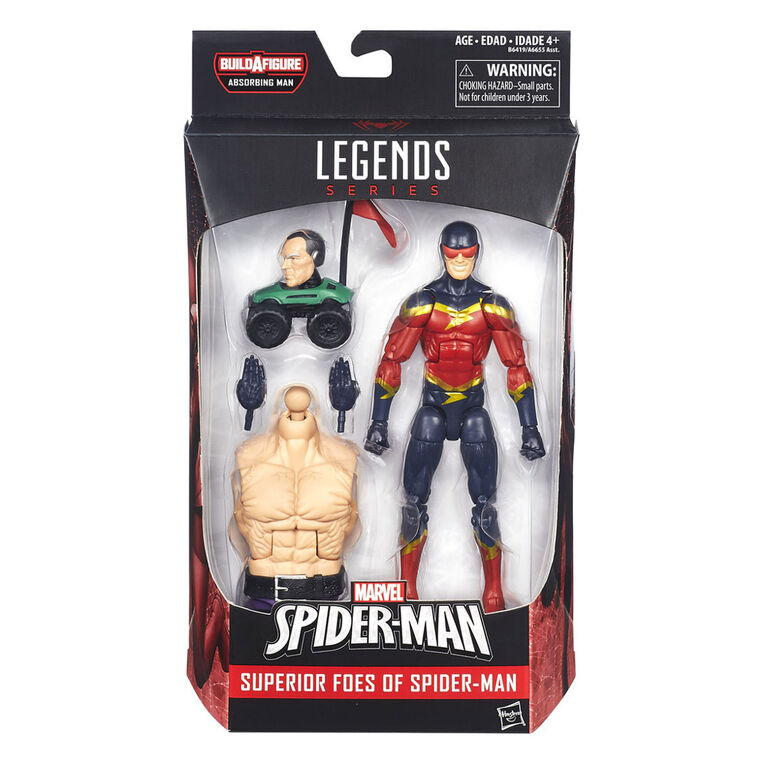 Marvel Legends Series: Superior Foes of Spider-Man: Marvel's Speed Demon.