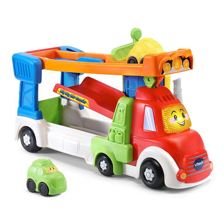 VTech Go! Go! Smart Wheels Big Rig Car Carrier - English Edition
