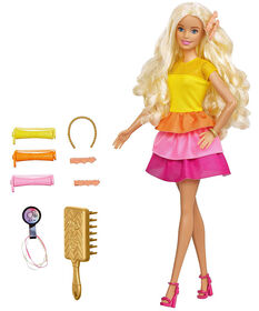 Barbie Ultimate Curls Doll and Playset