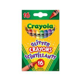 Crayola Glitter Crayons, 16 Ct