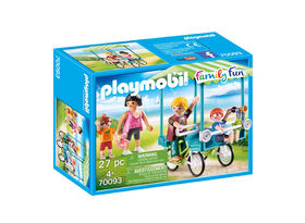 Playmobil Family Fun - Family Bicycle 70093