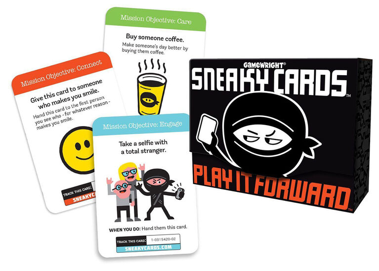 Gamewright - Sneaky Cards Game