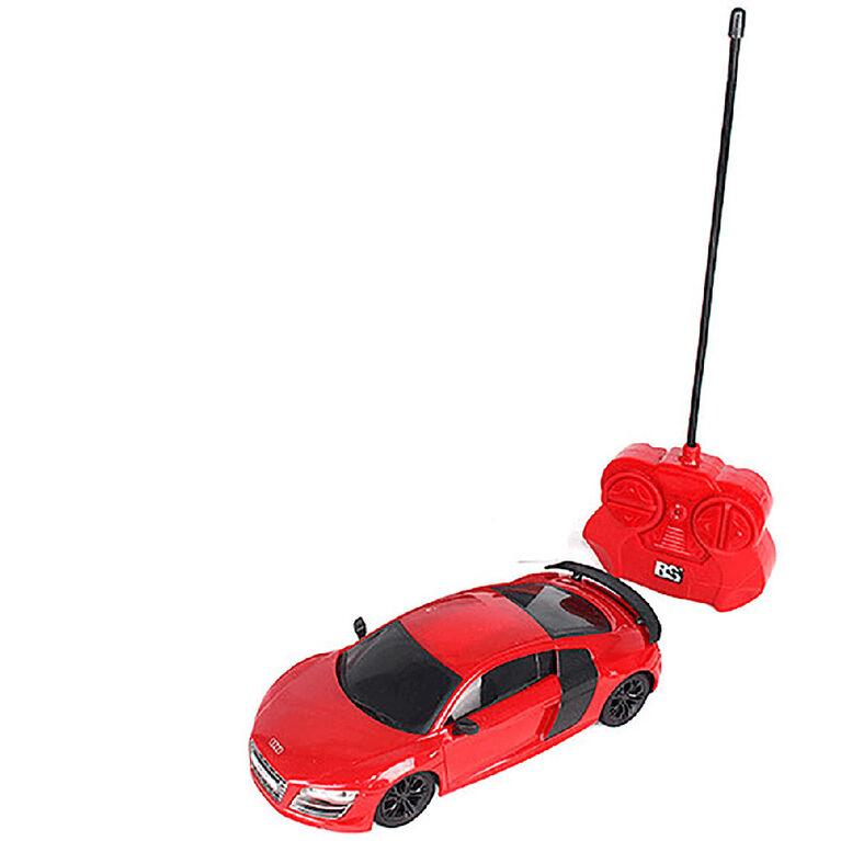 1:24 Audi R8 GT Remote Control Car Red - Notre exclusivité