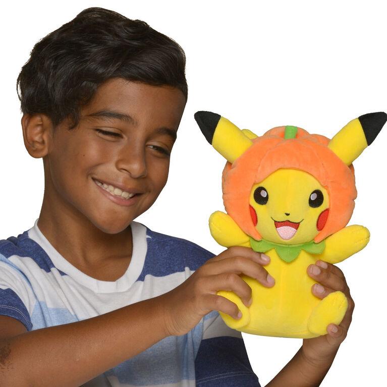 Pokémon 8 inch Seasonal Plush - Pikachu Pumpkin Hat - R Exclusive