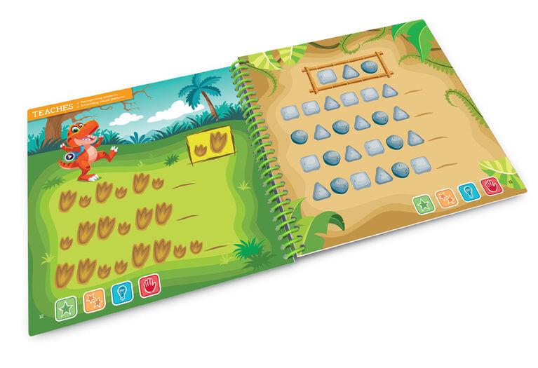 Livre d'activités pour la maternelle LeapStart de LeapFrog - Formes et Couleurs - Version anglaise