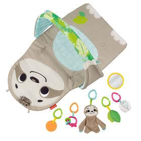 Fisher-Price Ready to Hang Sensory Sloth Gym