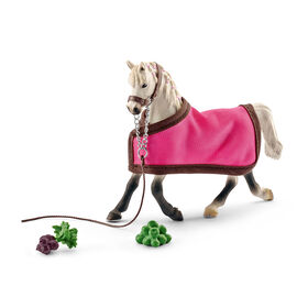 Schleich - Arab Mare with Blanket - Multi