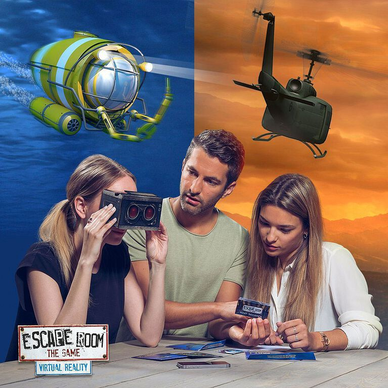 Identity Games: Escape Room - Virtual Reality Edition Game - English only